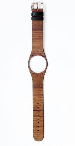 First ever soft flexible wooden watch strap made with genuine teak wood