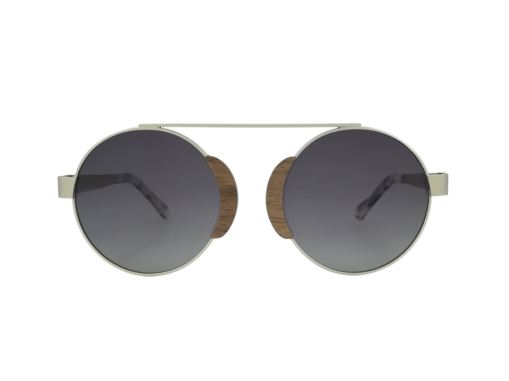 Arlo Wood & Metal Sunglasses