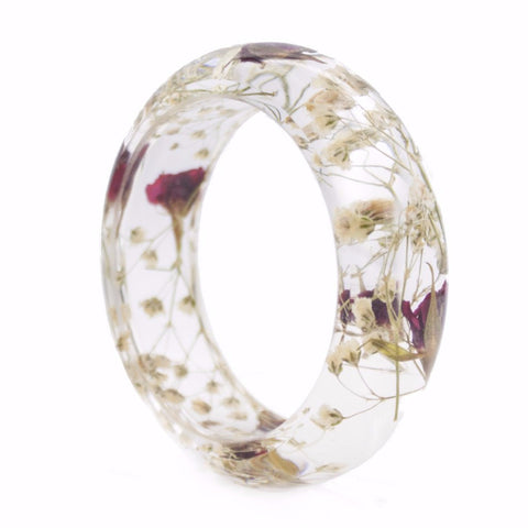 Blushing Meadow Botanist Cuff