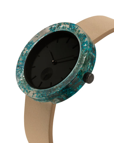 Blue Queen Anne's Lace Botanist Watch - Analog Watch Co.