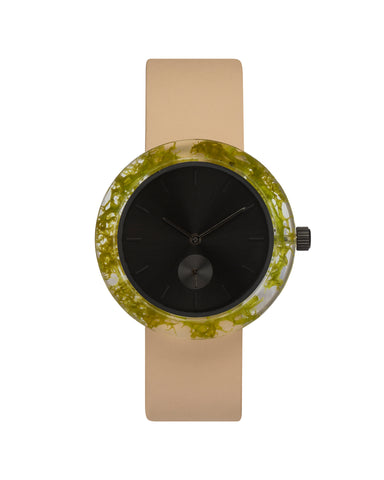 Green Reindeer Moss Botanist Watch - Analog Watch Co.