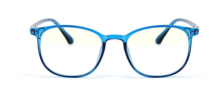 Clear Blue - Unisex Blue Light Filtering Glasses (low-grade)