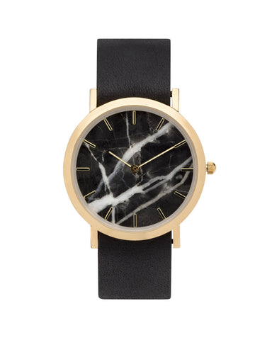 Black Marble Classic Watch - Analog Watch Co.