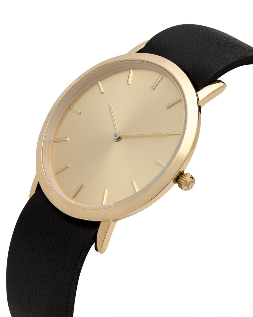 Gold Classic Watch - Analog Watch Co.