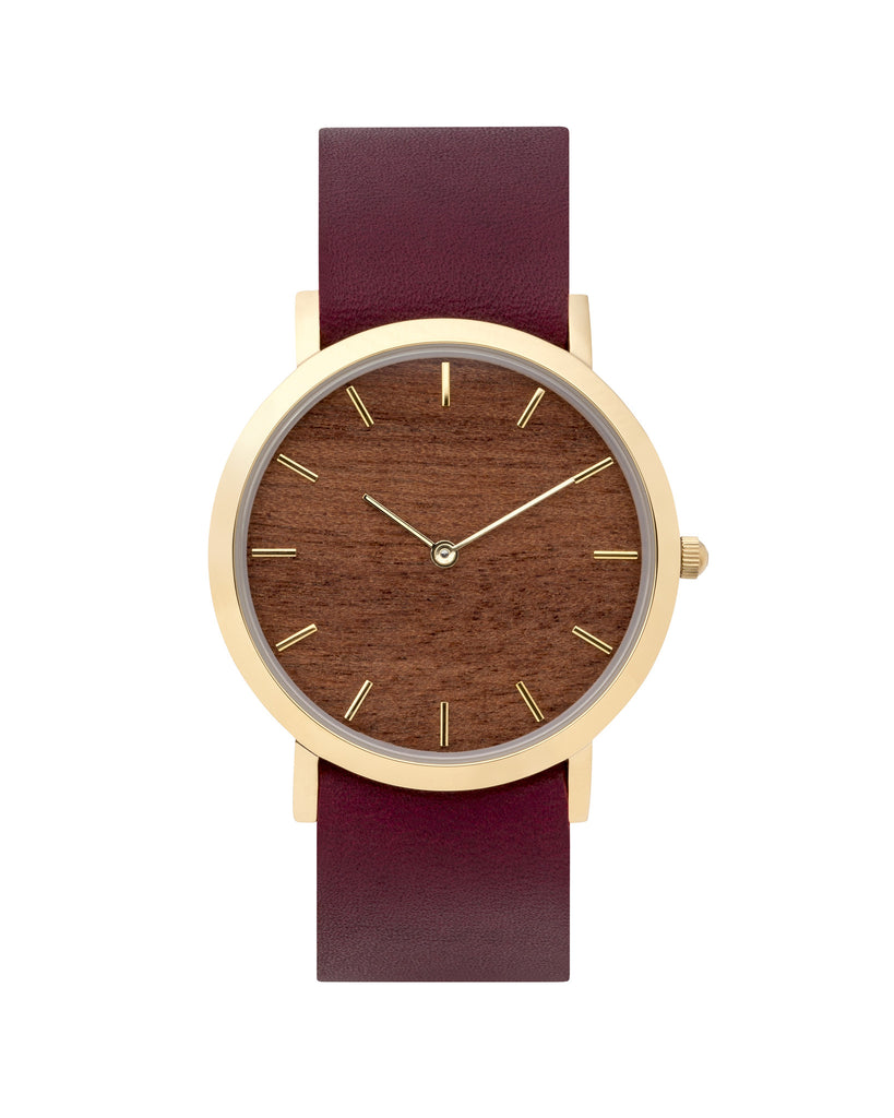 Makore Wood Classic Watch