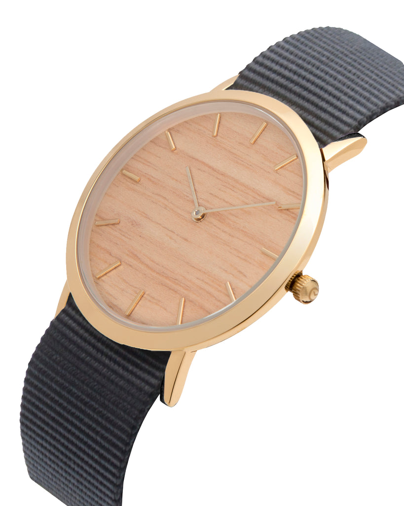 Silverheart Wood Classic Watch