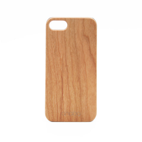 Cherry Wood iPhone Case - Analog Watch Co.