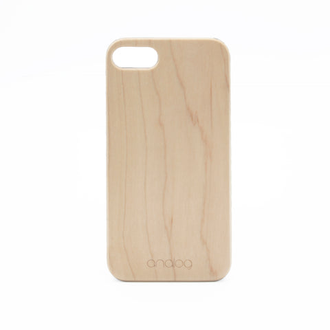 Maple Wood iPhone Case - Analog Watch Co.
