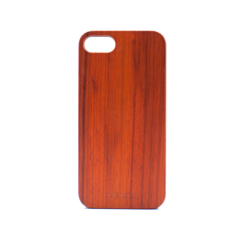 Rosewood iPhone Case - Analog Watch Co.