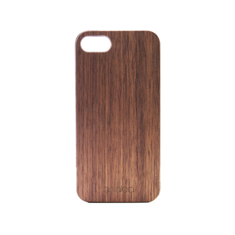 Walnut Wood iPhone Case - Analog Watch Co.