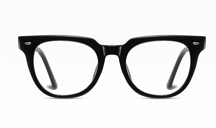 Matte Black - Unisex Blue Light Filtering Glasses (High-grade)