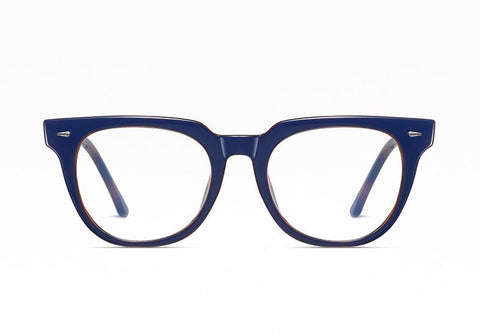 Navy Blue - Unisex Blue Light Filtering Glasses (High-grade)