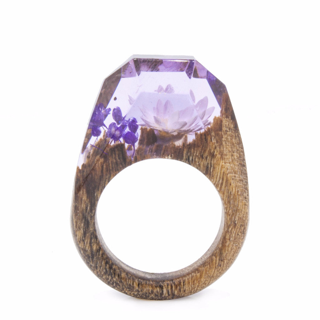 Lavender Field Botanist Ring - Analog Watch Co.