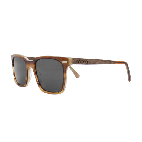 Ira Acetate & Wood Sunglasses