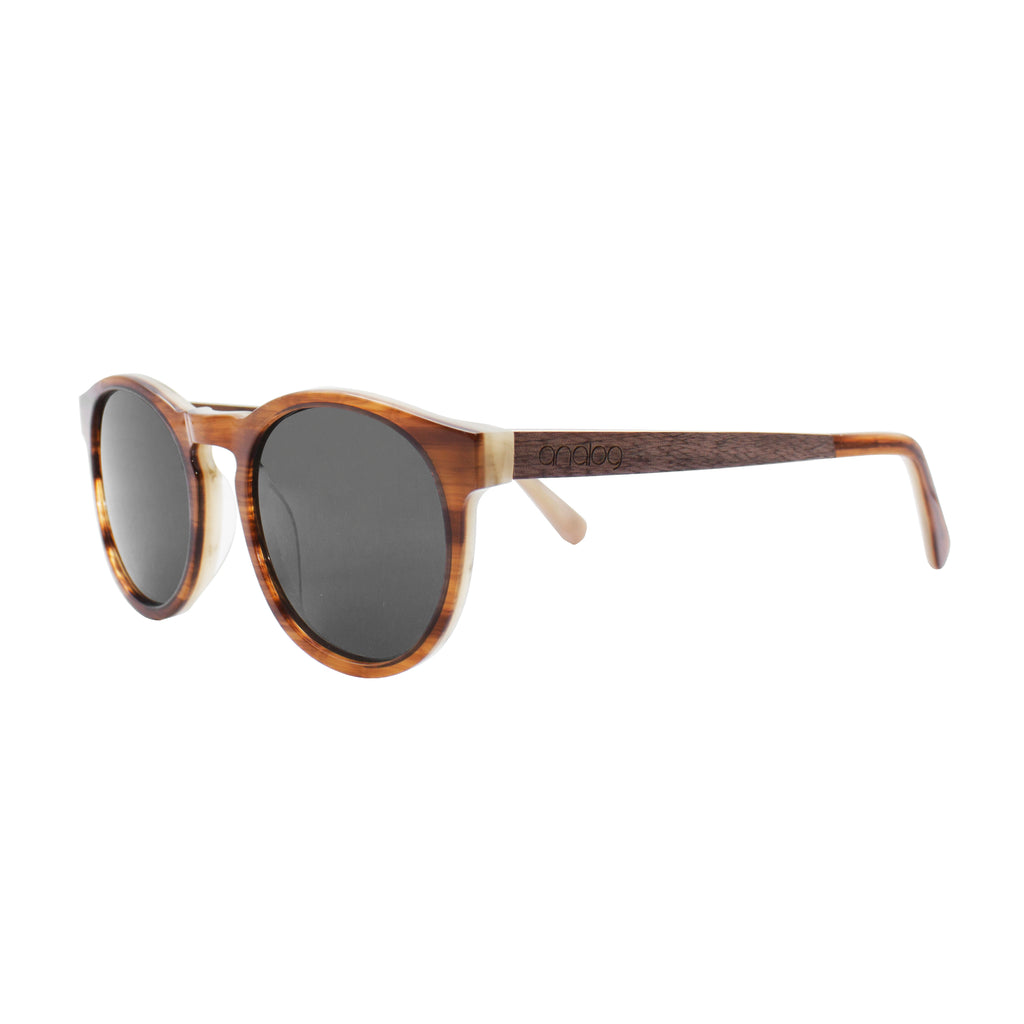 Kennedy Acetate & Wood Sunglasses - Analog Watch Co.