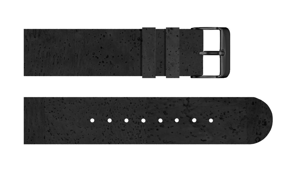 Black Cork Strap - For Somm watches - Analog Watch Co.