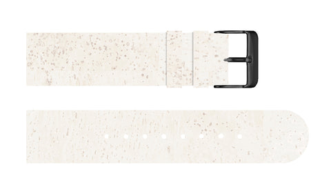 White Cork Strap - For Somm watches - Analog Watch Co.