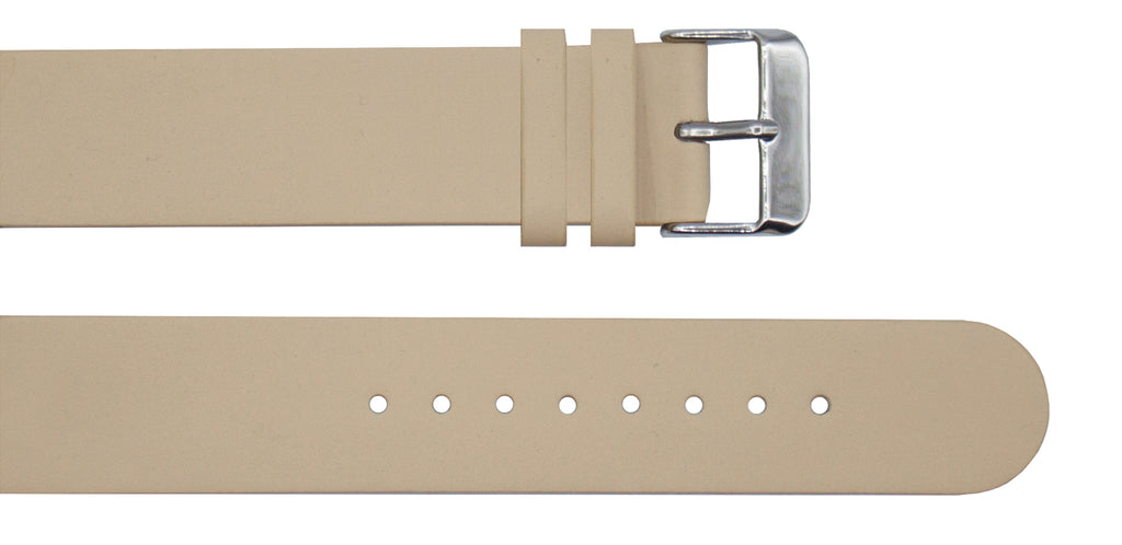 Cream Leather Strap - For Botanist Watches - Analog Watch Co.