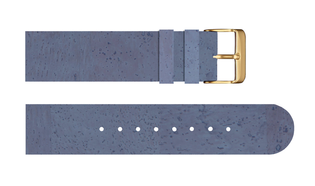 Blueberry Wine Cork Strap - For Somm watches - Analog Watch Co.
