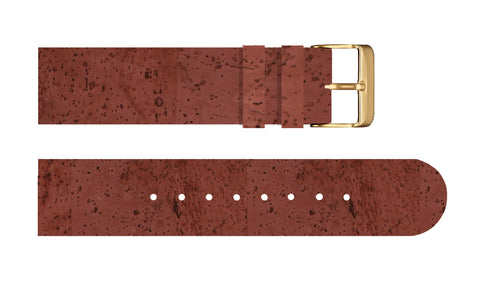 Cabernet Wine Cork Strap - For Somm watches - Analog Watch Co.