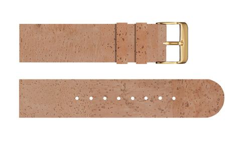 Natural Cork Strap - For Somm watches - Analog Watch Co.
