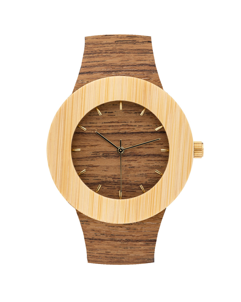 Teak & Bamboo Watch - Analog Watch Co.