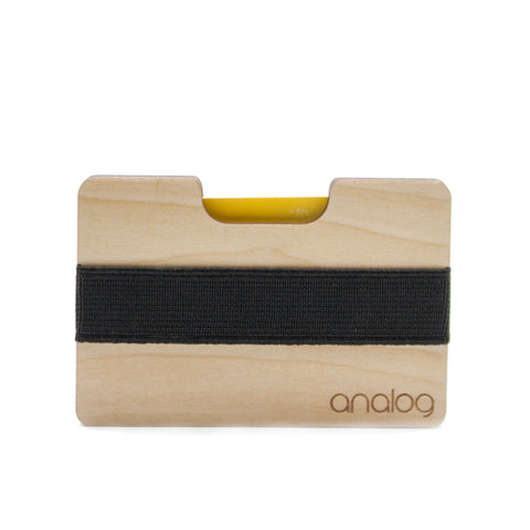 Birch Wallet Card Holder - Analog Watch Co.