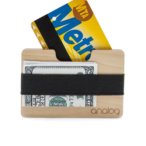 Birch Wallet Card Holder