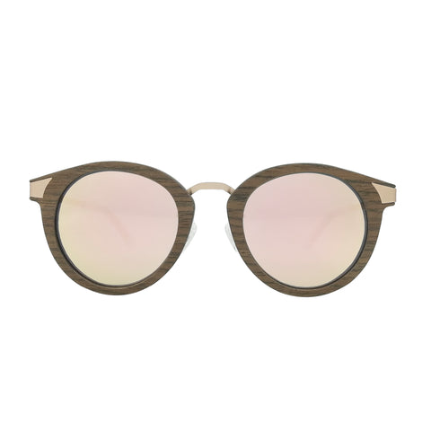 Delaney Wood & Metal Sunglasses