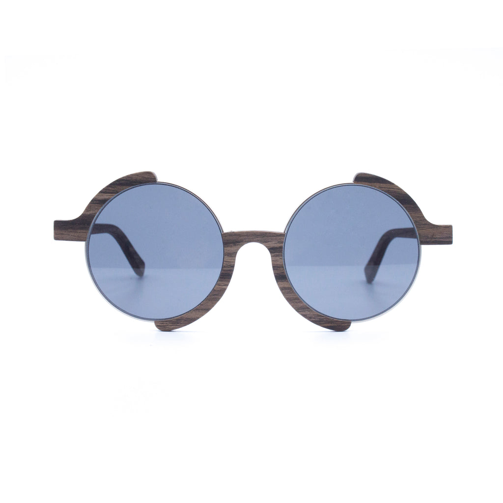 Lovett Wood and Metal Sunglasses - Analog Watch Co.