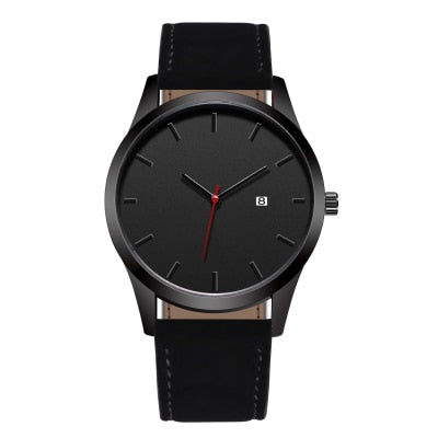 The Everyday Black on Black - Analog Watch Co.