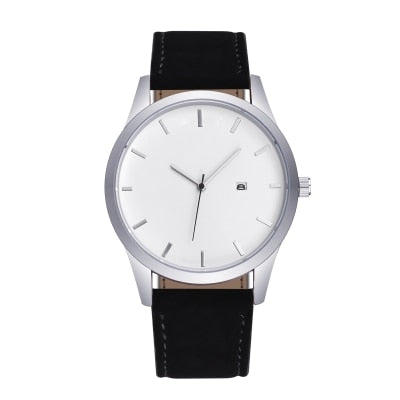The Everyday White on Black - Analog Watch Co.