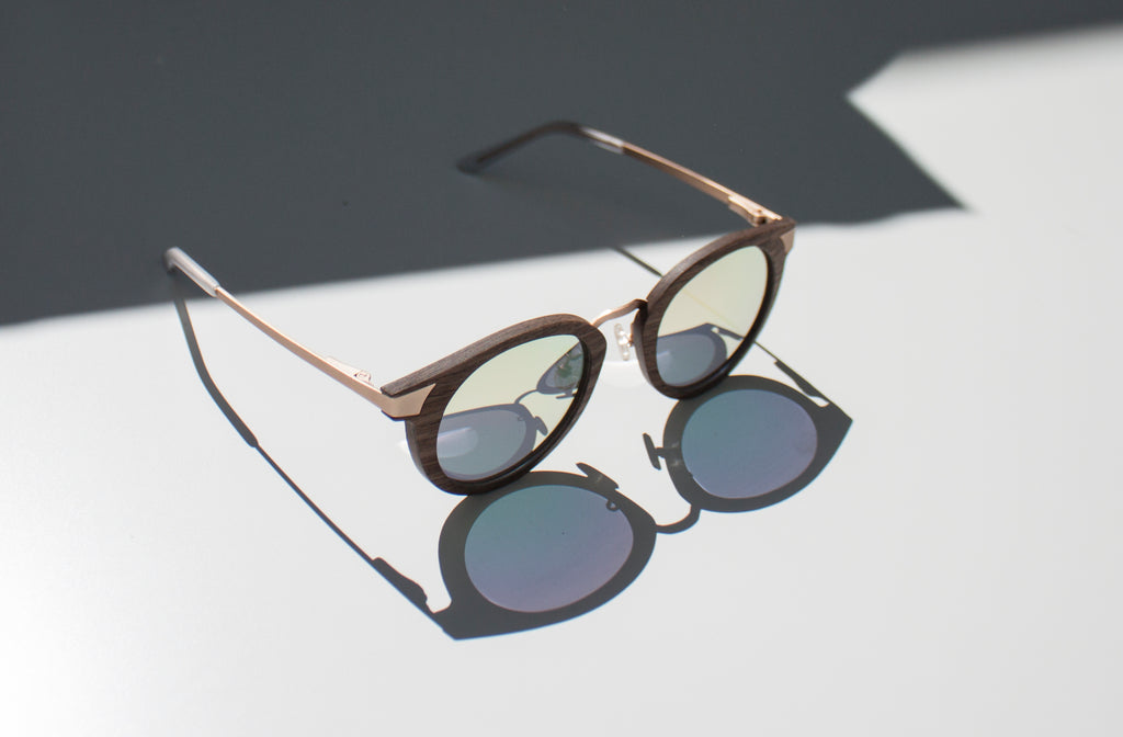 Delaney Wood & Metal Sunglasses - Analog Watch Co.