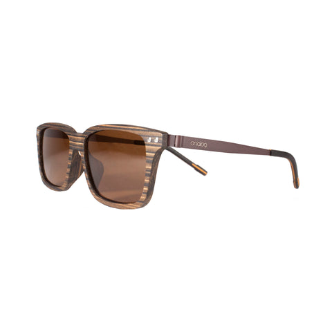 Vance Wood & Metal Sunglasses - Analog Watch Co.