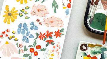 Artist Collaboration: Hope Johnson & Ditsy Florals
