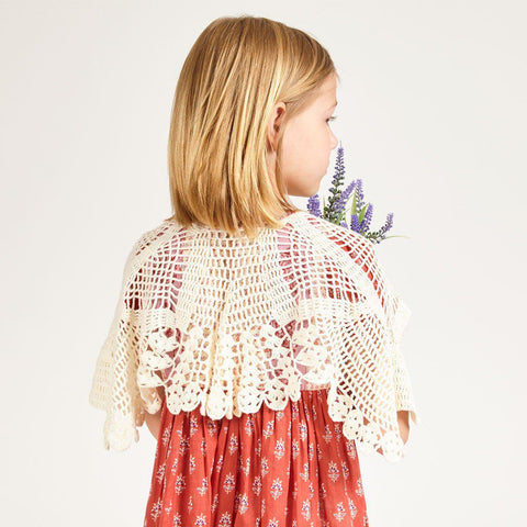 Bird Crochet Cape