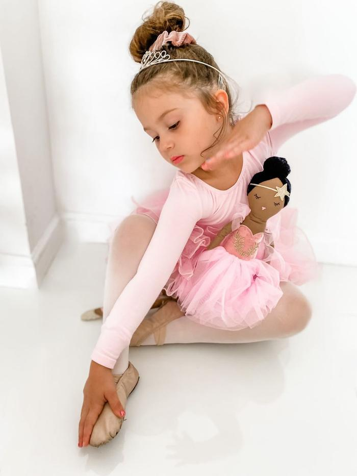 Pink Chicken Louise Prima Ballerina Doll