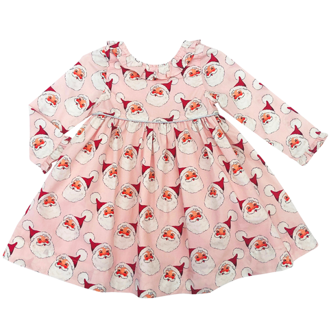 Pink Chicken Princess Diana Dress 2y cloud pink santa - 19hpc263a