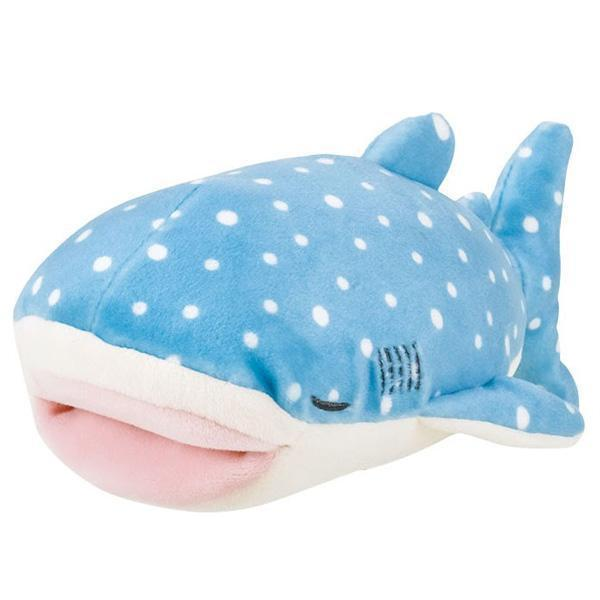 Pink Chicken Large Whale Shark Pillow