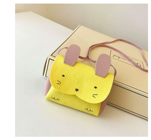 Pink Chicken Bunny Bag - Yellow