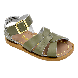 Pink Chicken Salt Water Original Sandal Olive 7 toddler