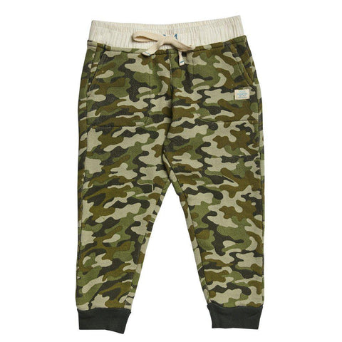 Pink Chicken Beckett Pant 2y green camo - 17fbr106d