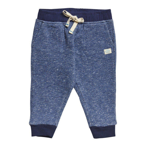Pink Chicken Beckett Pant 3/6m blue heather - 17fbrn218a