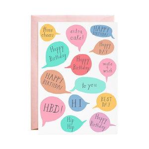 Pink Chicken Greeting Card Best Day