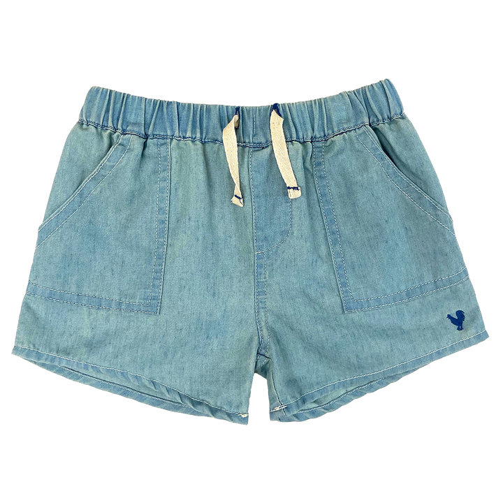 Pink Chicken Sean Short 2y chambray
