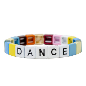 Pink Chicken Rainbow Inspire Bracelet: Dance