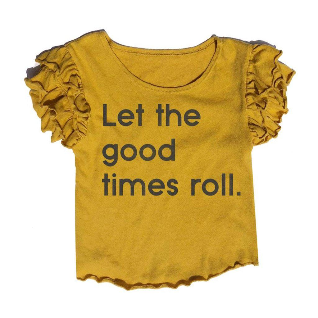 Let the Good Times Roll Ruffle T