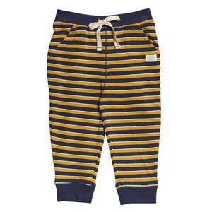 Pink Chicken Gus Pant 3/6m blue/sunflower/white stripe - 17fbrn204c