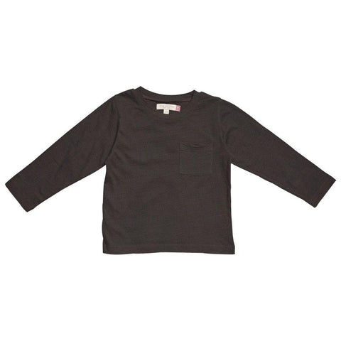 Pink Chicken Harry T 2y black coffee garment dye - 17fbr103h