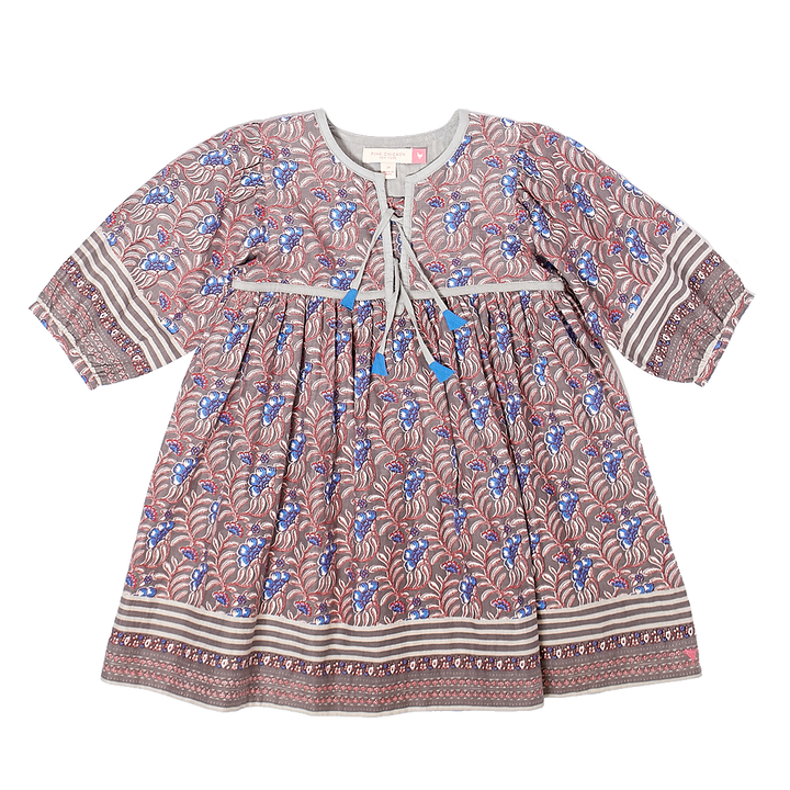 Pink Chicken Jade Dress 2Y castlerock vine floral